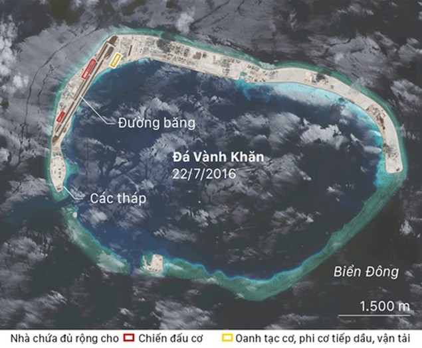 Ảnh tố Trung Quốc thất hứa, vẫn quân sự hóa Biển Đông - ảnh 2