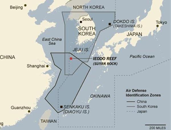 Hàn Quốc điều phi cơ chặn máy bay quân sự Trung Quốc - ảnh 1