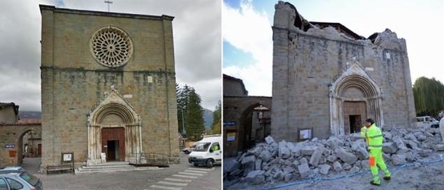 Hình ảnh đối lập của thị trấn Italy trước và sau động đất - ảnh 3