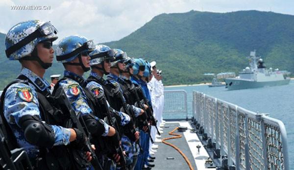 Trung Quốc muốn gì khi tập trận chung với Nga ở Biên Đông - ảnh 1
