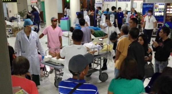Nổ chợ đêm Philippines, 10 người chết - ảnh 1