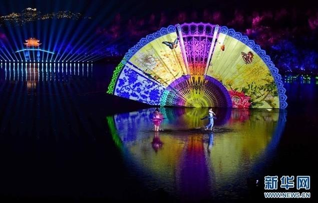 Lễ khai mạc G20 rực rỡ trên sân khấu nước ở Hàng Châu - ảnh 1