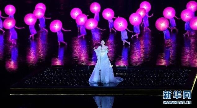 Lễ khai mạc G20 rực rỡ trên sân khấu nước ở Hàng Châu - ảnh 2