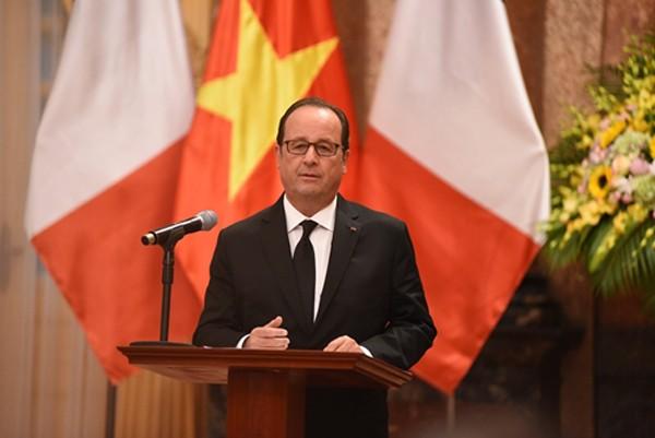 Chủ tịch nước: Chuyến thăm của Tổng thống Pháp tạo xung lực cho quan hệ hai nước - ảnh 2