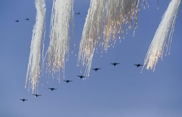 Cuộc tập trận phô diễn sức mạnh của Nga ở Crimea - ảnh 11