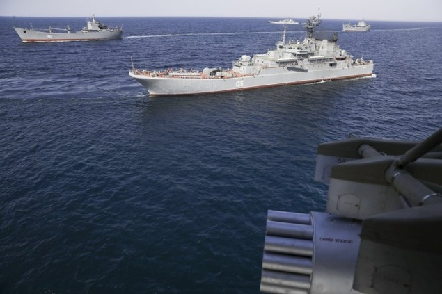Cuộc tập trận phô diễn sức mạnh của Nga ở Crimea - ảnh 2