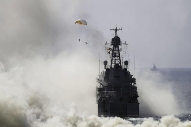 Cuộc tập trận phô diễn sức mạnh của Nga ở Crimea - ảnh 4