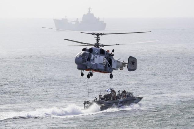 Cuộc tập trận phô diễn sức mạnh của Nga ở Crimea - ảnh 5
