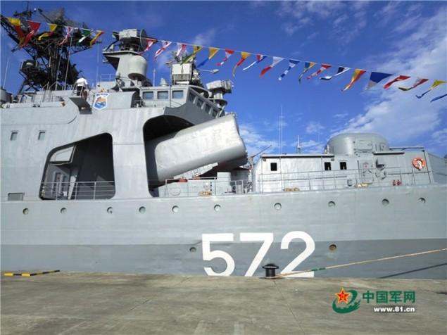 Tàu Nga cập cảng Trung Quốc, chuẩn bị tập trận ở Biển Đông - ảnh 2