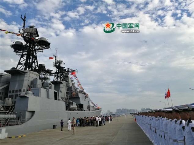 Tàu Nga cập cảng Trung Quốc, chuẩn bị tập trận ở Biển Đông - ảnh 3