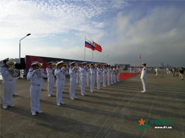 Tàu Nga cập cảng Trung Quốc, chuẩn bị tập trận ở Biển Đông - ảnh 4