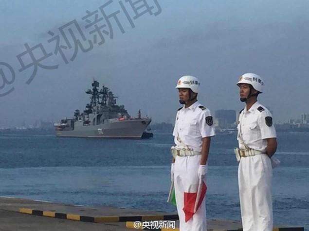 Tàu Nga cập cảng Trung Quốc, chuẩn bị tập trận ở Biển Đông - ảnh 5
