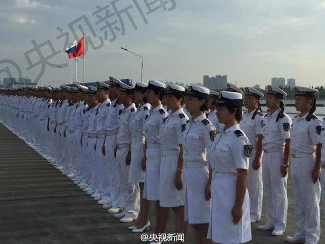 Tàu Nga cập cảng Trung Quốc, chuẩn bị tập trận ở Biển Đông - ảnh 7