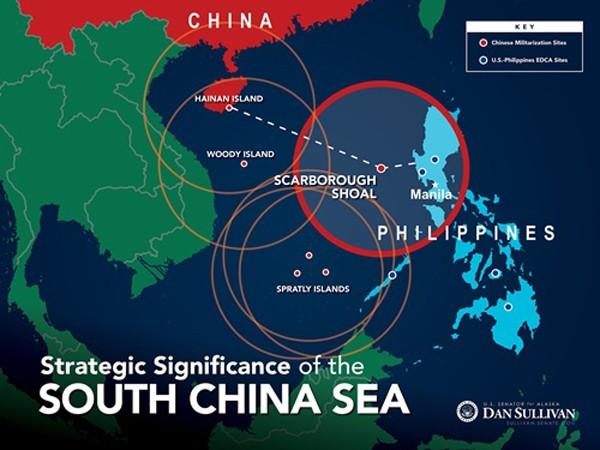 Scarborough - mảnh ghép cuối của tam giác Trung Quốc muốn dựng ở Biển Đông - ảnh 1