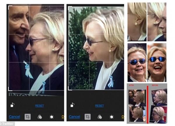 Thuyết âm mưu về người thế thân cho Hillary Clinton - ảnh 1