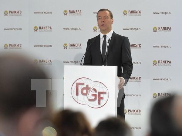 Đảng Nước Nga Thống nhất dẫn đầu trong bầu cử Duma quốc gia Nga - ảnh 1