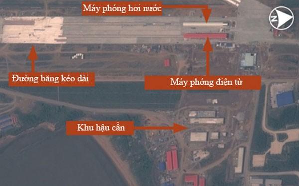Trung Quốc cải tiến tiêm kích hạm để cất cánh bằng máy phóng - ảnh 1
