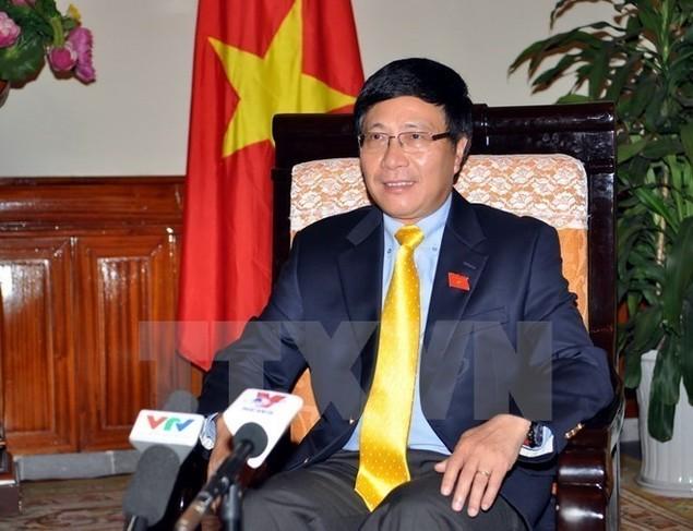 Phó Thủ tướng Phạm Bình Minh tiếp xúc bên lề Đại hội đồng LHQ - ảnh 1