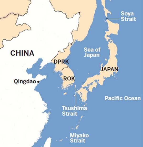 Nhật điều chiến đấu cơ theo dõi Trung Quốc bay diễn tập - ảnh 1
