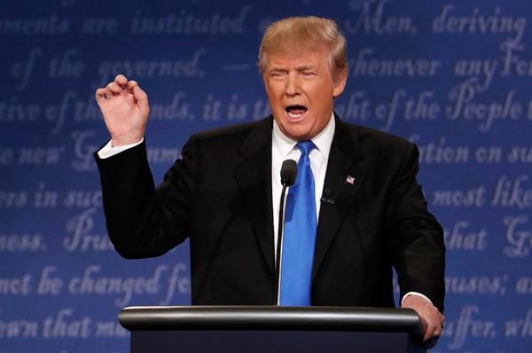 Trump và Clinton lần đầu tranh luận trực tiếp - ảnh 2