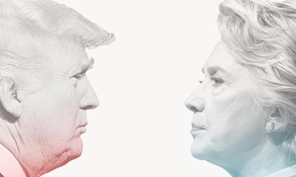 'Kẻ khóc, người cười' sau cuộc tranh luận Trump - Clinton - ảnh 1