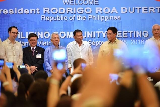 Chuyến thăm Việt Nam đầu tiên của Tổng thống Philippines - ảnh 2