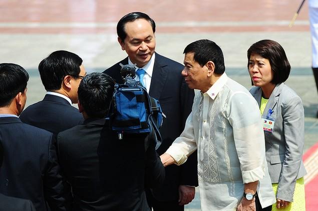 Chuyến thăm Việt Nam đầu tiên của Tổng thống Philippines - ảnh 11