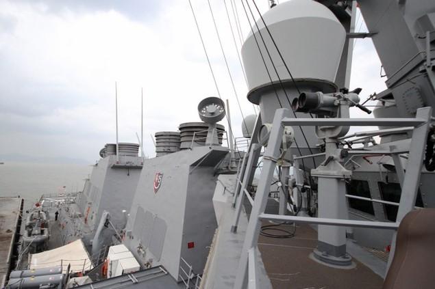Khí tài hiện đại trên tàu tên lửa của Mỹ thăm Đà Nẵng - ảnh 5