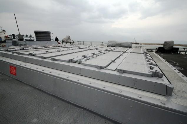 Khí tài hiện đại trên tàu tên lửa của Mỹ thăm Đà Nẵng - ảnh 7