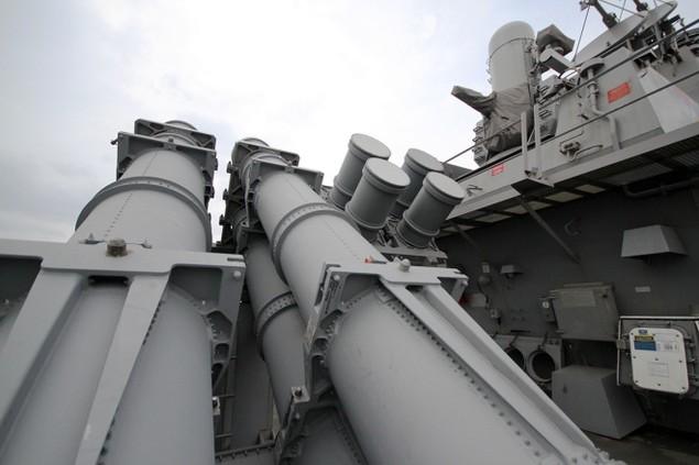 Khí tài hiện đại trên tàu tên lửa của Mỹ thăm Đà Nẵng - ảnh 8