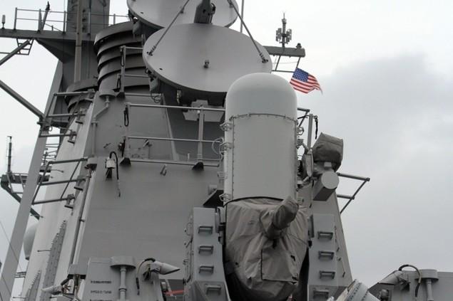 Khí tài hiện đại trên tàu tên lửa của Mỹ thăm Đà Nẵng - ảnh 10