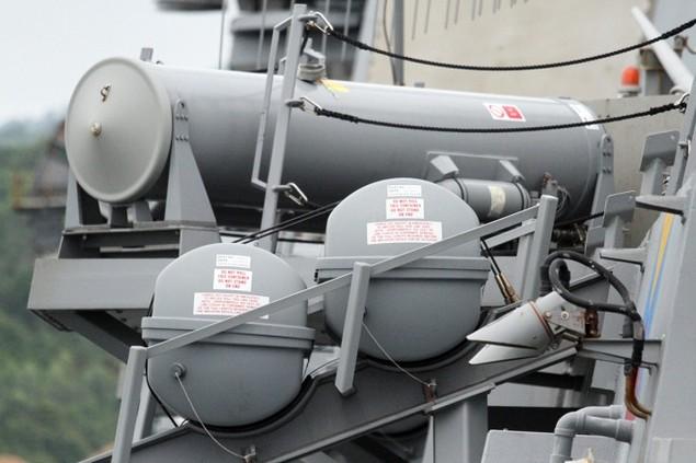Khí tài hiện đại trên tàu tên lửa của Mỹ thăm Đà Nẵng - ảnh 11