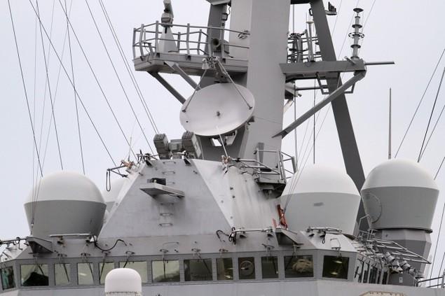 Khí tài hiện đại trên tàu tên lửa của Mỹ thăm Đà Nẵng - ảnh 12