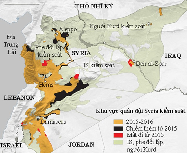 Tham vọng siêu cường dang dở của Nga ở Syria - ảnh 1