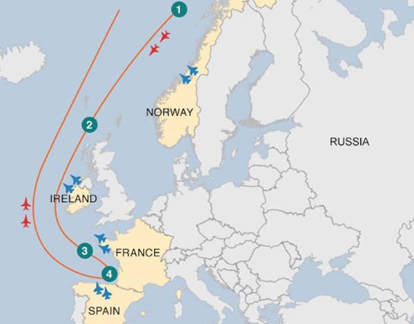 4 nước châu Âu điều tiêm kích chặn oanh tạc cơ Nga - ảnh 1