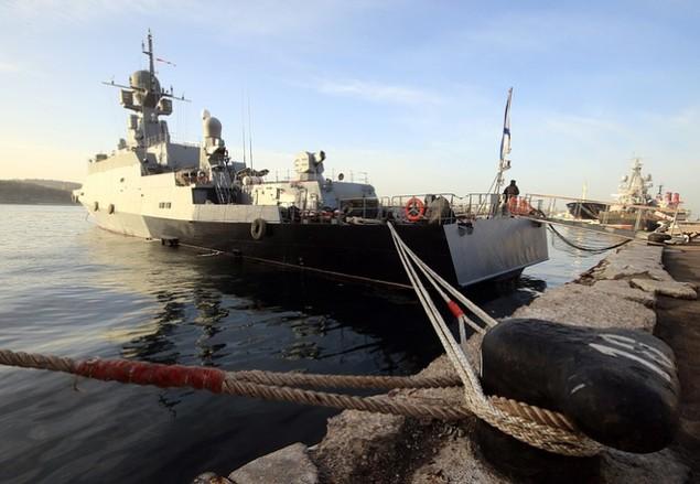 Dàn chiến hạm hùng hậu của Nga diệt IS ở Syria - ảnh 2