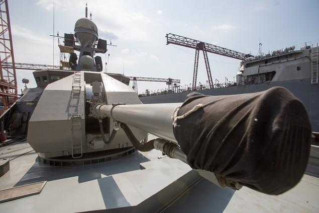 Dàn chiến hạm hùng hậu của Nga diệt IS ở Syria - ảnh 3