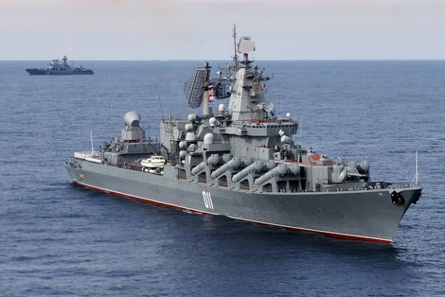 Dàn chiến hạm hùng hậu của Nga diệt IS ở Syria - ảnh 5