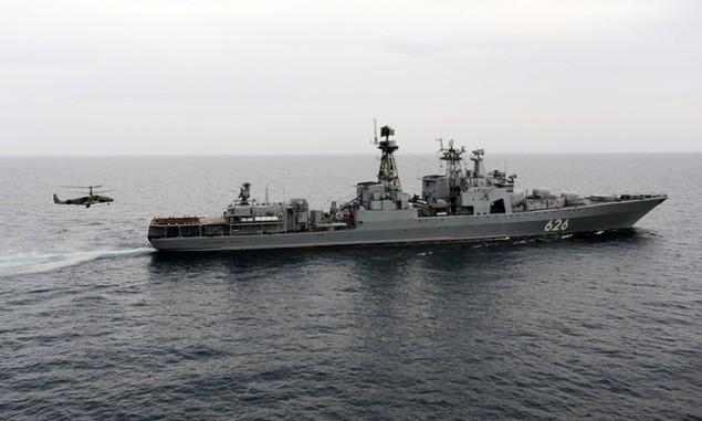 Dàn chiến hạm hùng hậu của Nga diệt IS ở Syria - ảnh 6