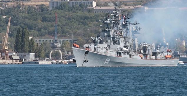 Dàn chiến hạm hùng hậu của Nga diệt IS ở Syria - ảnh 8