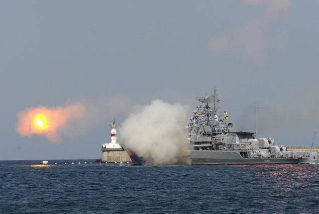 Dàn chiến hạm hùng hậu của Nga diệt IS ở Syria - ảnh 9
