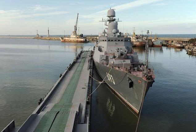 Dàn chiến hạm hùng hậu của Nga diệt IS ở Syria - ảnh 11