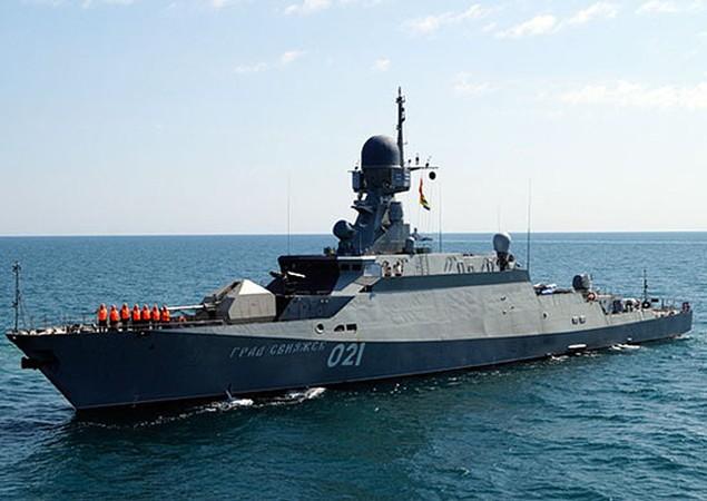 Dàn chiến hạm hùng hậu của Nga diệt IS ở Syria - ảnh 12