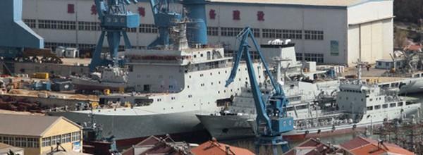 Trung Quốc đóng tàu buồm huấn luyện sĩ quan hải quân - ảnh 1