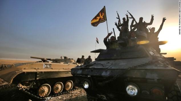 Chảo lửa Mosul sôi sục trong chiến dịch giải phóng - ảnh 3