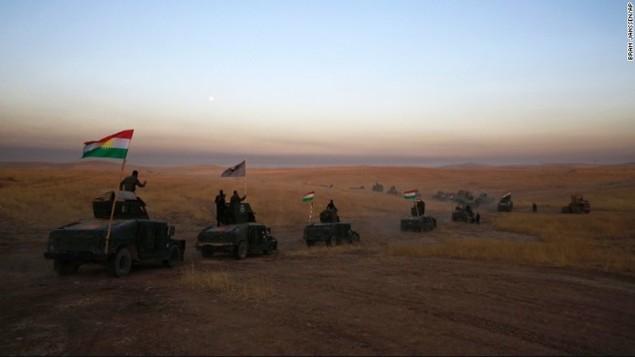 Chảo lửa Mosul sôi sục trong chiến dịch giải phóng - ảnh 6