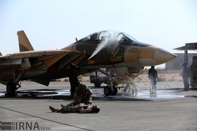 Không quân Iran diễn tập đáp trả đòn tấn công phủ đầu - ảnh 3