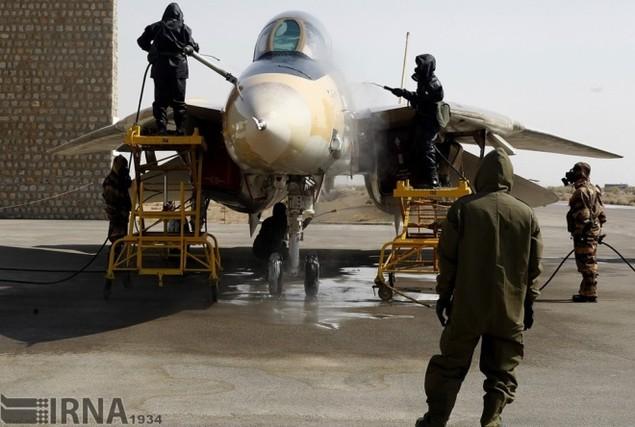 Không quân Iran diễn tập đáp trả đòn tấn công phủ đầu - ảnh 4