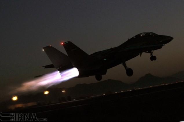 Không quân Iran diễn tập đáp trả đòn tấn công phủ đầu - ảnh 7