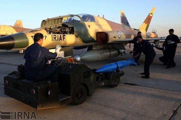 Không quân Iran diễn tập đáp trả đòn tấn công phủ đầu - ảnh 9
